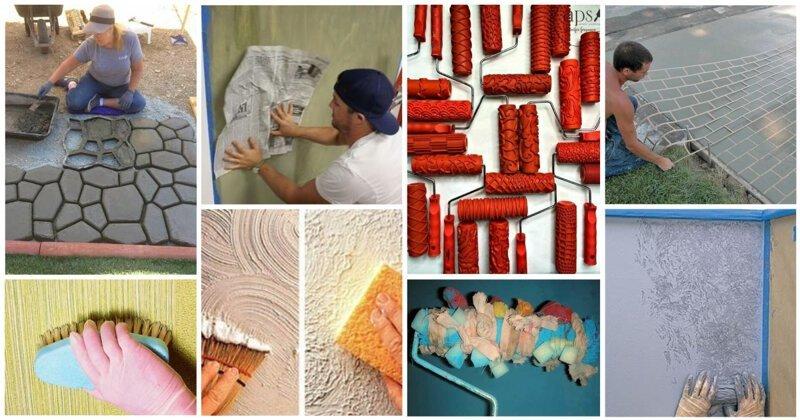 20 гениальных идей для фактурных стен и паттерны для плитки (26фото)