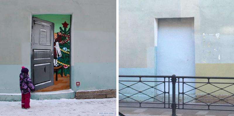 Зачем закрашивают граффити? (25фото)
