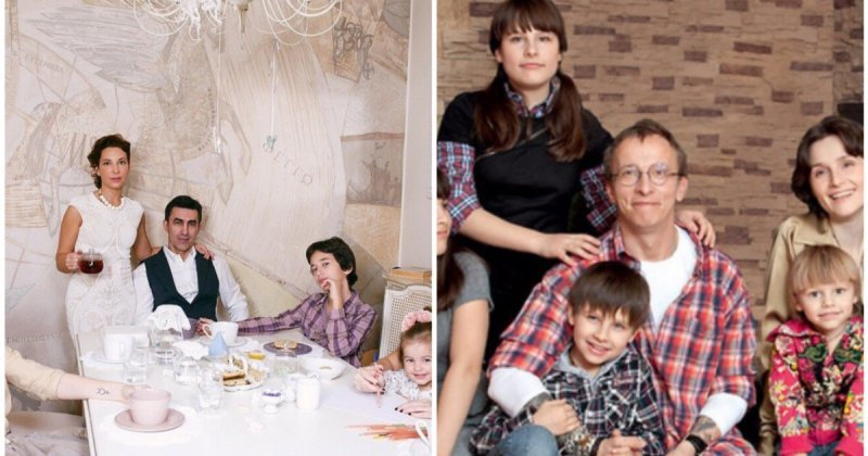 Отцы-молодцы: российские знаменитости, у которых большая семья (9фото)