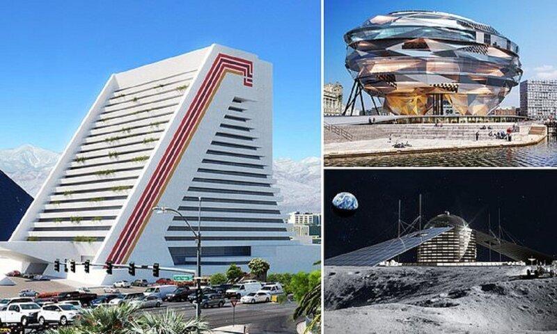 Самые невероятные дизайнерские отели, которые так и не были построены (10фото)