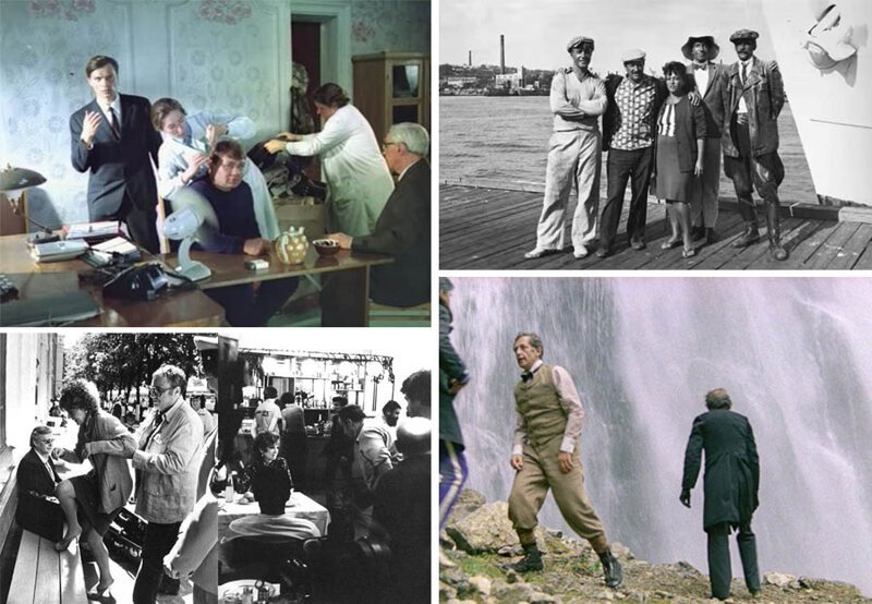За кадром любимых советских фильмов (26фото)