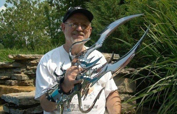 Уникальные ножи (8фото)