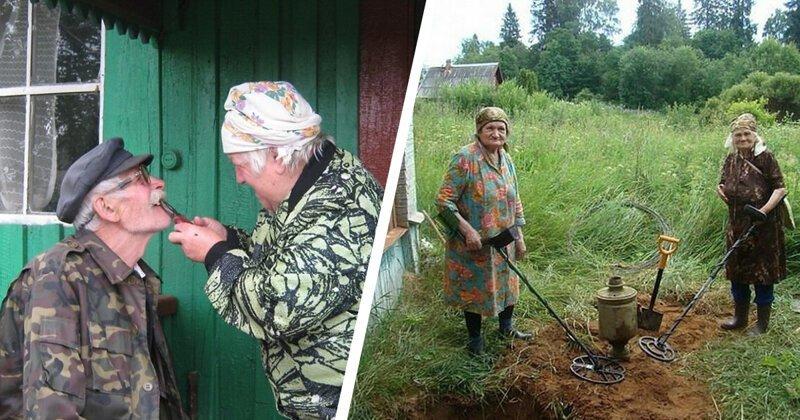 Эх, гуляй село! Особенности жизни людей в российской глубинке (22фото)