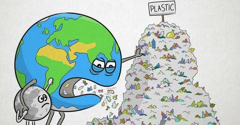 «Рассерженная Земля»: серия рисунков, которые заставляют задуматься о судьбе нашей планеты (19фото)